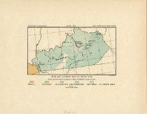 Image of Iron Ore Sample Map of Kentucky -