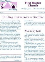 Image of From Vision to Victory [newsletter] -