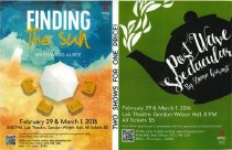 Image of Finding the Sun & Post Wave Spectacular - Theatre & Dance (WKU)