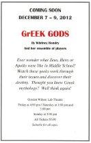 Image of GrEEK GODS - Theatre & Dance (WKU)