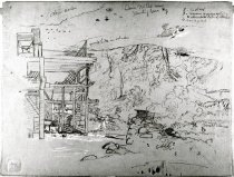 Image of Frederic E. Church Cave Mill Sketches -