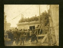 Image of Construction of the First Baptist Church -
