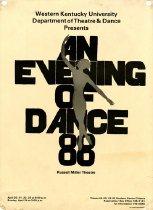 Image of An Evening of Dance '88  - Theatre & Dance (WKU)