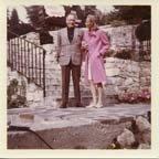 Image of Robert Penn Warren and Eleanor Clark Warren in France -
