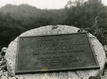 Image of First Oil Well in Kentucky Marker -