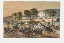 Image of Fast Trotters on Harlem Lane, N.Y.