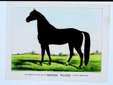 Image of Lenore B. and Sidney A. Alpert Currier & Ives Collection - The Celebrated Trotting Stallion George Wilkes by Rysdyk's Hambletonian