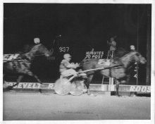 Image of Lew Barasch Roosevelt Raceway Collection - Race Finish