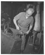 Image of Lew Barasch Roosevelt Raceway Collection - Blacksmith