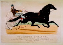 Image of Lenore B. and Sidney A. Alpert Currier & Ives Collection - Governor Sprague