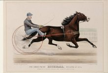 Image of Lenore B. and Sidney A. Alpert Currier & Ives Collection - Grand Pacer Richball, Record 2:12. 1/2, The