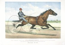 Image of Grand Trotter Clingstone, driven by G.H. Saunders, The