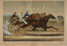Image of Grand Trotting Queen Nancy Hanks driven by Budd Doble, The