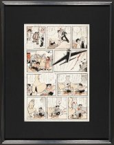 Image of [Unititled original drawing] - Tezuka, Osamu, 1928-1989