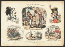 """Image of """"Making the Green One Red"""" - Cruikshank, George, 1792-1878"""