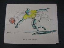 Image of [Two tennis cartoons] - Glidden