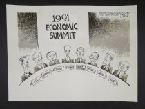 Image of 1991 Economic Summit - Rogers, Rob, 1959-