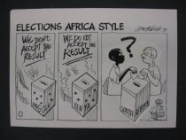 Image of Elections Africa style - Fedler, Dov, 1940-