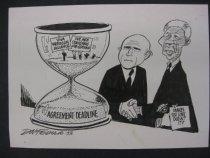 Image of Agreement deadline - Fedler, Dov, 1940-