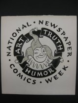 Image of Art truth humor. National newspaper comics week. - Cooper, Fred G. , 1883-1962