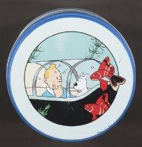 Image of Metal tin featuring Tin Tin  - Remi, Georges, 1907-1983