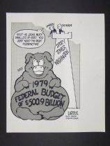 Image of 1979 federal budget - Larrick, James, 1946-
