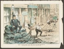 Image of New York's Dirt and the Way to Get Rid of It - Wales, James Albert, 1852-1886