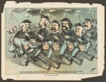 Image of In Line at Last - Wales, James Albert, 1852-1886
