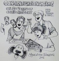 Image of Congratulations, Jim!  On 30 Years of Comic Artistry! - Johnston, Lynn, 1947-