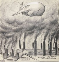 Image of Rising industrial production - Bishop, Daniel, 1900-1959