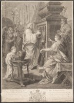 Image of Nero depositing the Ashes of Britannicus - Boydell, John, 1720-1804