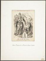 Image of Gaul to the New Caesar. - Tenniel, John, 1820-1914