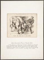 Image of Taking the (Irish) Bull by the Horns - Tenniel, John, 1820-1914