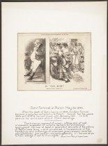 "Image of An ""Ugly Rush!"" - Tenniel, John, 1820-1914"