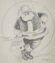 Image of The Ball Players Santa Claus - Briggs, Clare, 1875-1930
