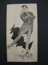 Image of [Man on rollerskates] - Nankivell, Frank Arthur, 1869-1959