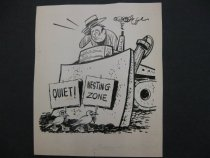 Image of [Quiet! Nesting zone!] - Methfessel, Carl
