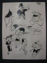 Image of [Caricatures] - Hake, Gordon