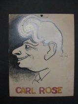 Image of Carl Rose - Pascal, David, 1918-2003