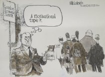 Image of A motivational tape?!.. - Luckovich, Mike, 1960-