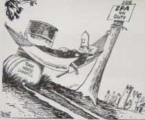 Image of EPA on Duty/Toxic Waste Landfill - Payne Jr., Eugene Gray, 1919-2010