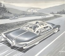 Image of [car on the highway] - Carr, Edward M.