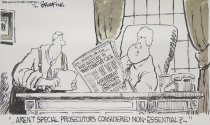 Image of Aren't special prosecutors considered non-essential?... - Brookins, Gary, 1950-