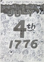 Image of A day that lives in glory July 4th 1776 - Bloom, Don, 1932-