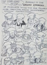 Image of If the hat fits... Monday is the grand cookoff... - Bloom, Don, 1932-