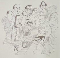 Image of Great American Songwriters  - Hirschfeld, Al, 1903-2003