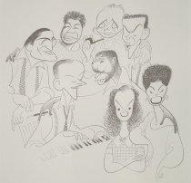 Image of Great American Singers  - Hirschfeld, Al, 1903-2003