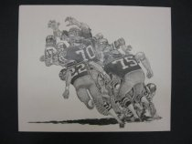 Image of [Football tackle. Washington Redskins?] - Jartos, George, 1942-