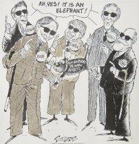 Image of Ah, yes! It is an elephant! - Sanders, Bill, 1933-
