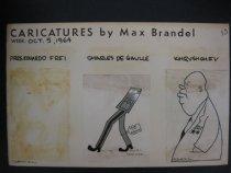 Image of Caricatures - Brandel, Max